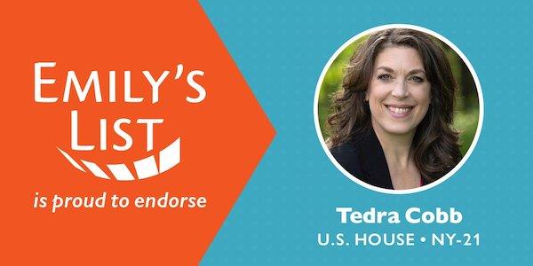 EMILY's List Endorses Tedra Cobb